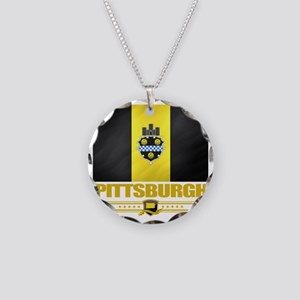 Pittsurgh (Flag 10) Necklace Circle Charm