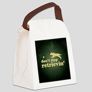 retrievin-distressedbgyelsq Canvas Lunch Bag