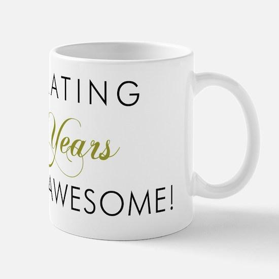 Celebrating 40 Years Awesome Mug