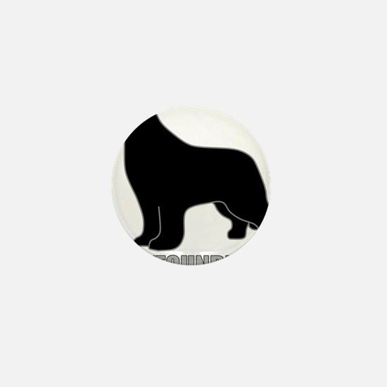 BlackNewfoundland_newstyle Mini Button