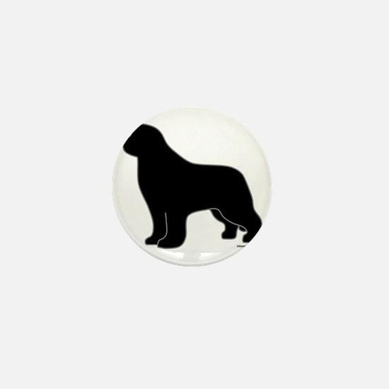 BlackSilhouette_newstyle Mini Button