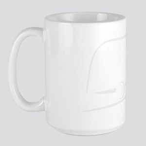 Airstream_16_outline_white_300ppi Large Mug