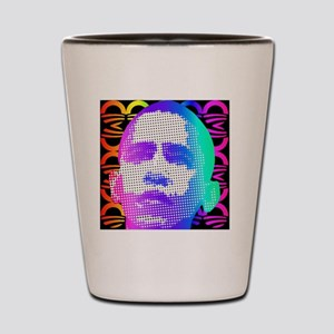 Obama Pop Art Shot Glass