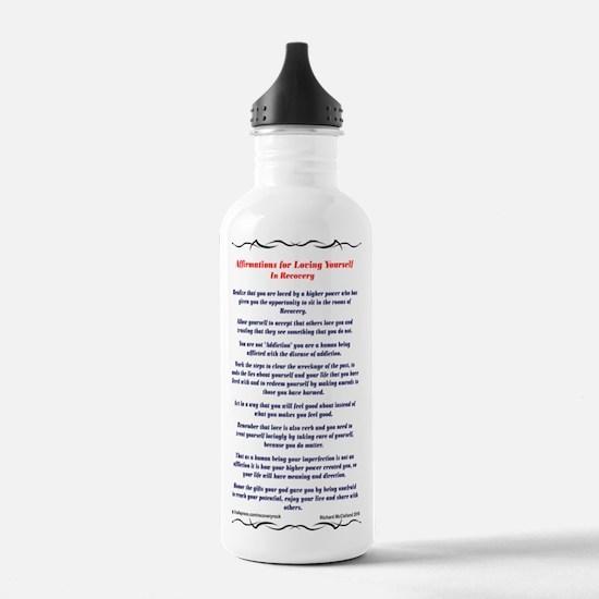 23X35AffirmationsTriba Water Bottle