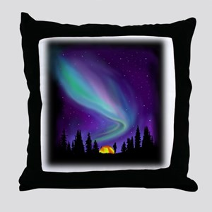 Northern Light Throw Pillow
