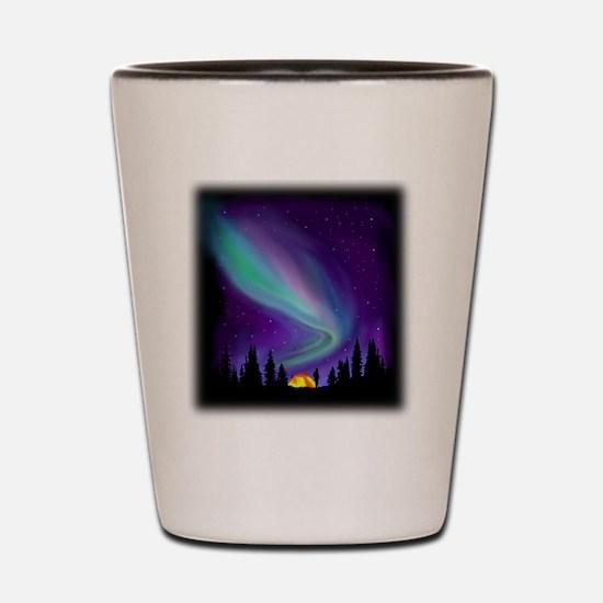 Northern Light Shot Glass