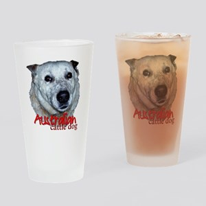 AustCattleDog Drinking Glass