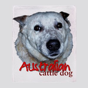 AustCattleDog Throw Blanket
