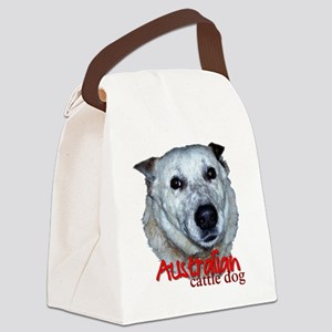 AustCattleDog Canvas Lunch Bag