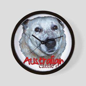 AustCattleDog Wall Clock