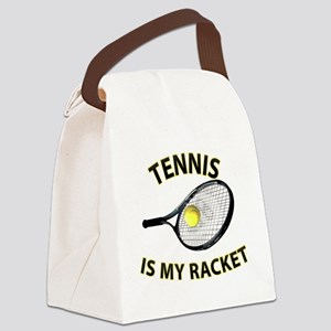 Tennis is my Racket Canvas Lunch Bag