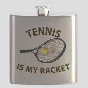Tennis is my Racket Flask