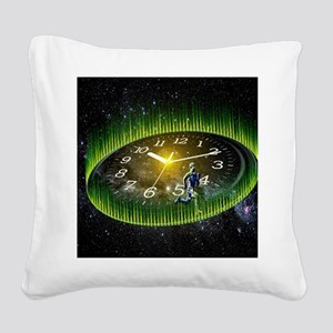 Path Of Life Square Canvas Pillow