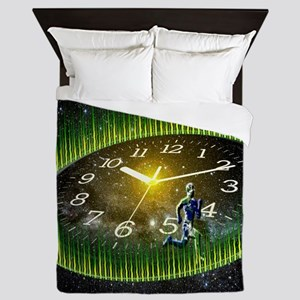 Path Of Life Queen Duvet