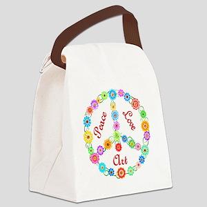 art Canvas Lunch Bag