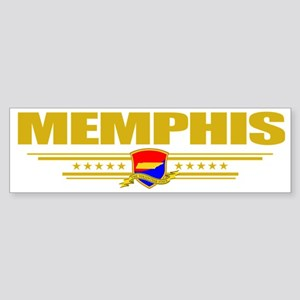 Memphis (Flag 10) pocket Sticker (Bumper)