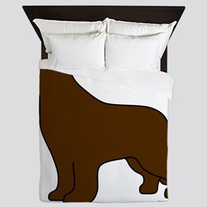 Brown Queen Duvet