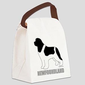 LandseerNewfoundland Canvas Lunch Bag