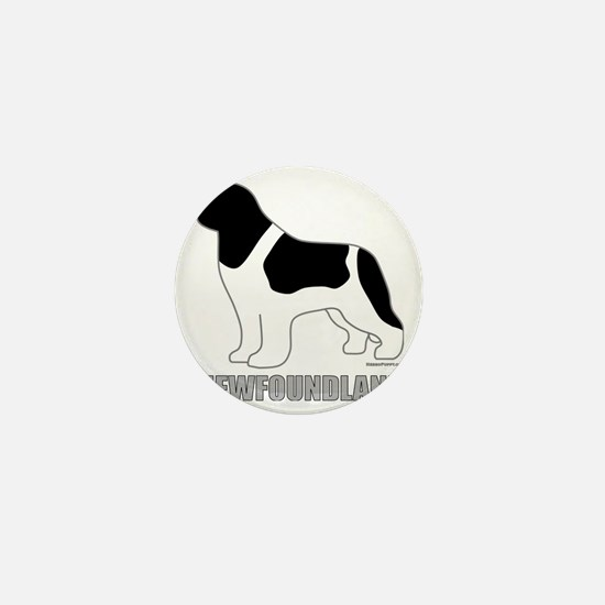 LandseerNewfoundland Mini Button
