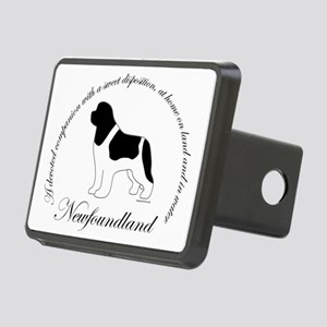 LandseerNewfOval Rectangular Hitch Cover