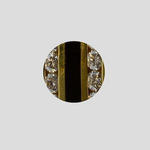 diamond_black_coral_gold_ring_stadium_ Mini Button