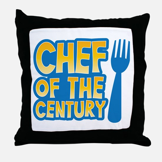 Chef of the CENTURY Throw Pillow
