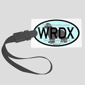 Newfoundland WRDX Title Large Luggage Tag