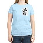 Love Kanji Women's Pink T-Shirt