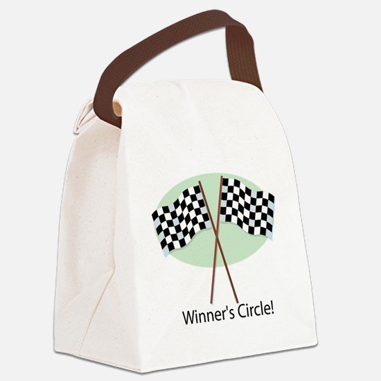 winners circle Canvas Lunch Bag