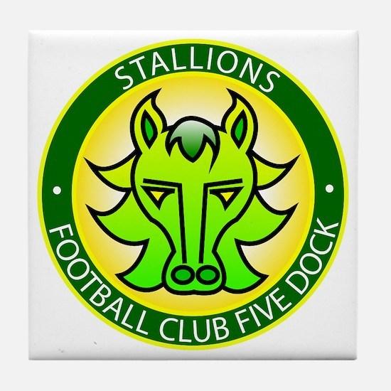 Stallions Tile Coaster