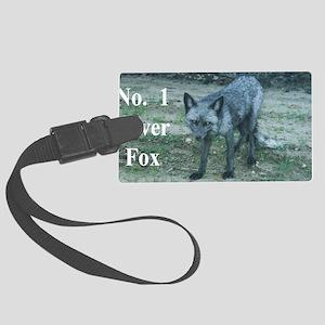 Fox12.125x6.125A Large Luggage Tag