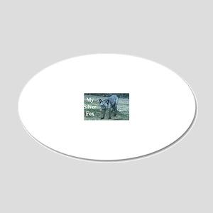 Fox12.125x6.125C 20x12 Oval Wall Decal