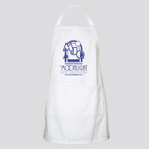 MJO LOGO for white - trueblue Apron