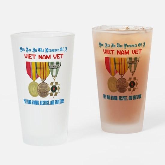 presence of vn vet Drinking Glass