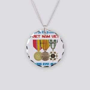 presence of vn vet Necklace Circle Charm