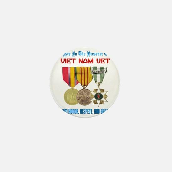 presence of vn vet Mini Button