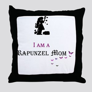 I Am a Rapunzel Mom Throw Pillow