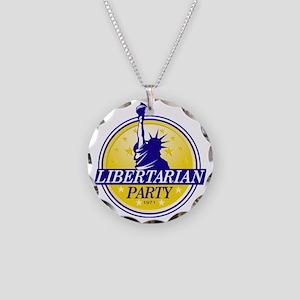 Logo Necklace Circle Charm