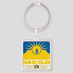Mesa (Flag 10) Square Keychain
