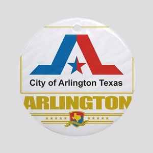 Arlington (Flag 10) Round Ornament