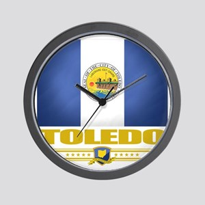 Toledo (Flag 10) Wall Clock