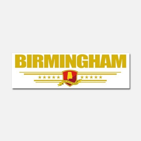Birmingham (Flag 10) pocket Car Magnet 10 x 3