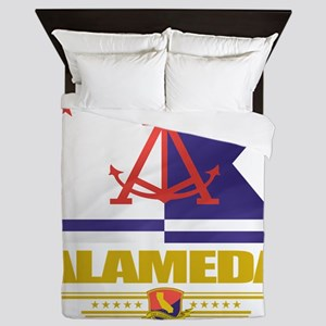 Alameda (Flag 10) Queen Duvet