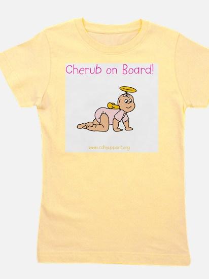 cherubonboard2 Girl's Tee
