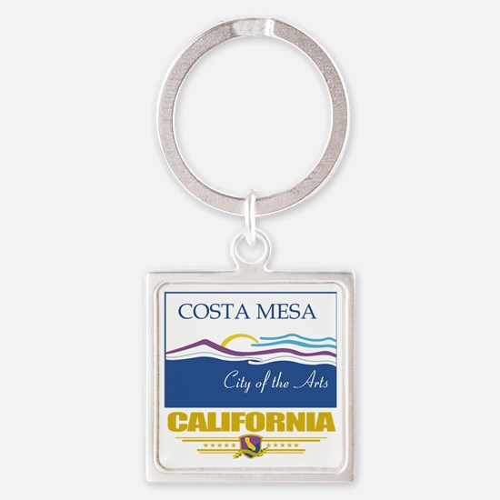 Costa Mesa (Flag 10) Square Keychain