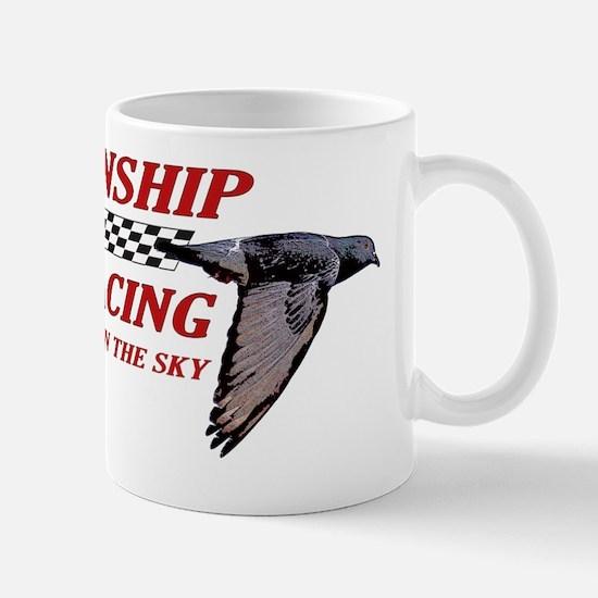 PIGEON_alincenseplate Mug