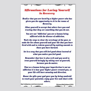 9x12AffirmationsTribal Postcards (Package of 8)