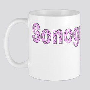 Sonographer Chick Pink Mug