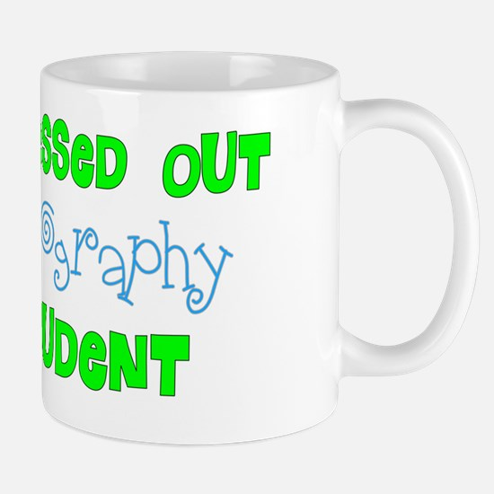 Stress out Sonography student BLUE GREE Mug
