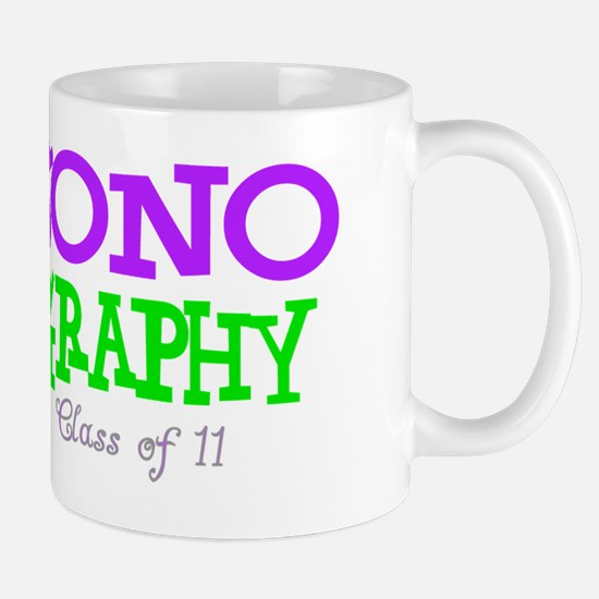 sonography student PURPLE Mug